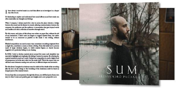 SUM (Music CD Booklet and Notes)